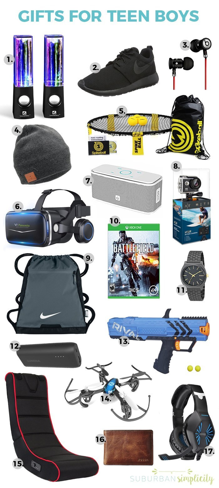 Small Gift Ideas For Boys  17 Awesome Gift Ideas for Teen Boys