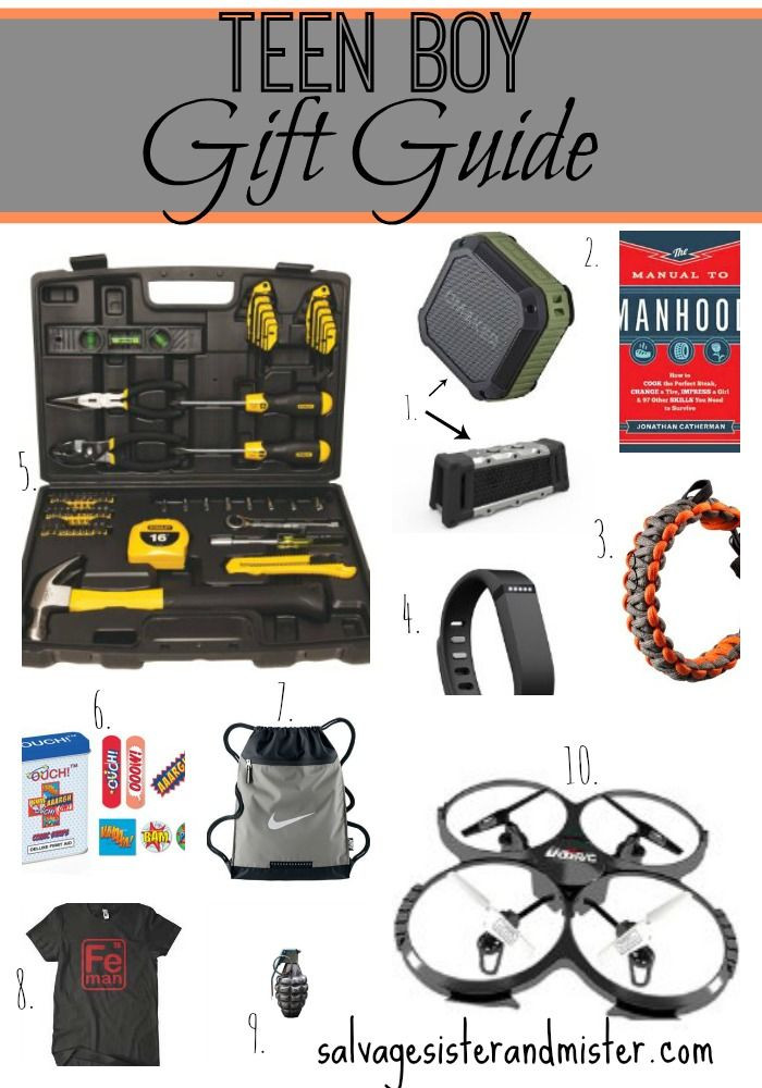 Small Gift Ideas For Boys  Teen Boy Gift Guide