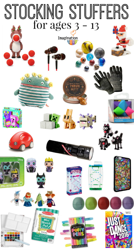 Small Gift Ideas For Boys  Stocking Stuffers for Kids and Teens Ages 3 13