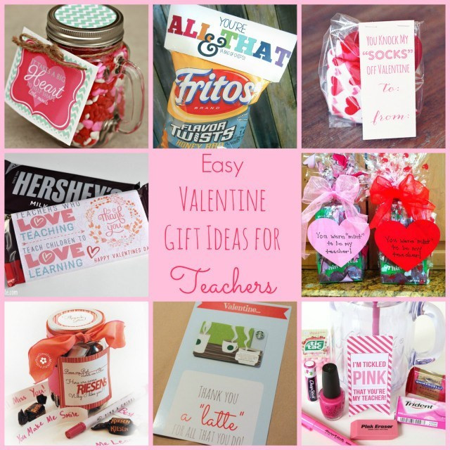 Small Valentines Gift Ideas  Easy Valentine Gift Ideas for the Teacher Happy Home Fairy