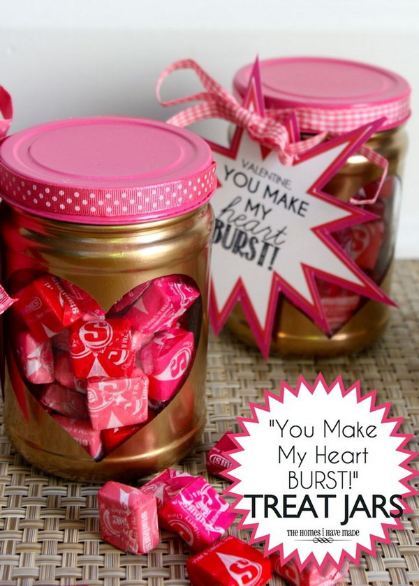 Small Valentines Gift Ideas  55 DIY Mason Jar Gift Ideas for Valentine s Day 2018