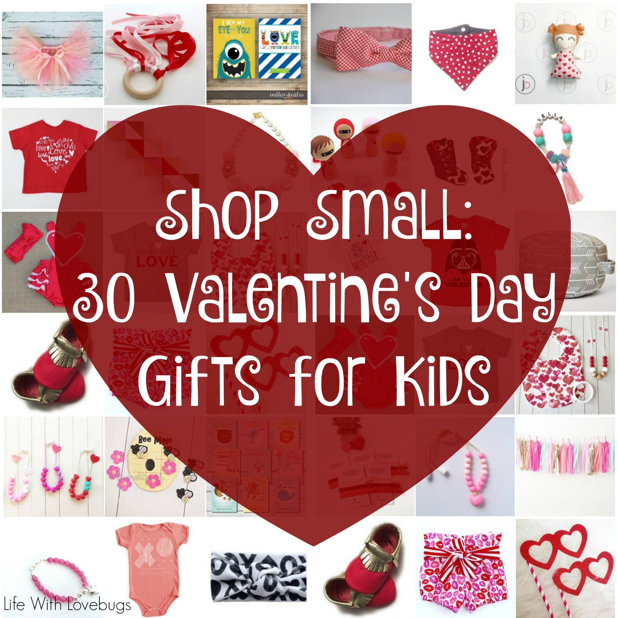 Small Valentines Gift Ideas  Shop Small 30 Valentines Day Gifts for Kids Life With