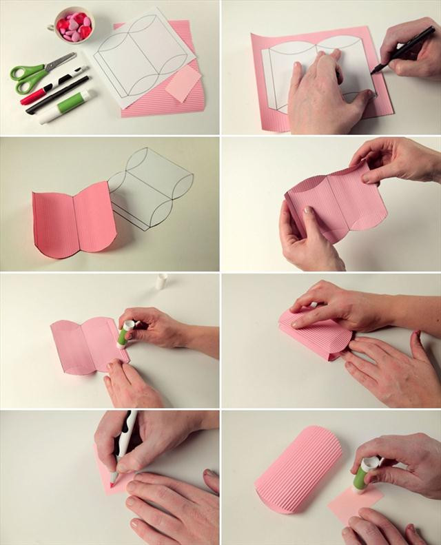 Small Valentines Gift Ideas  Homemade Valentine ts Cute wrapping ideas and small