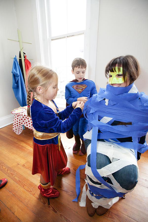 Spiderman Birthday Party Games  Kara s Party Ideas Superhero Boy Superman Batman Spiderman