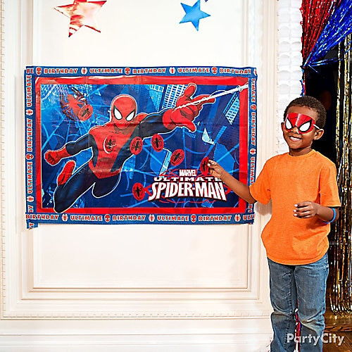 Spiderman Birthday Party Games  Spider Man Pin It Game Idea Game & Activity Ideas