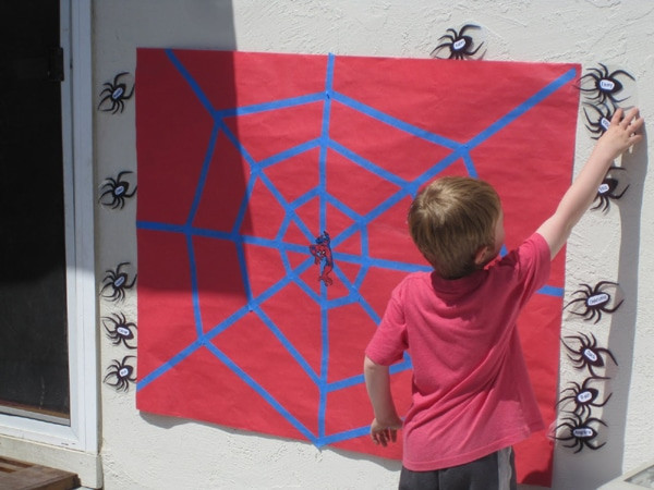 Spiderman Birthday Party Games  21 Spiderman Birthday Party Ideas Pretty My Party