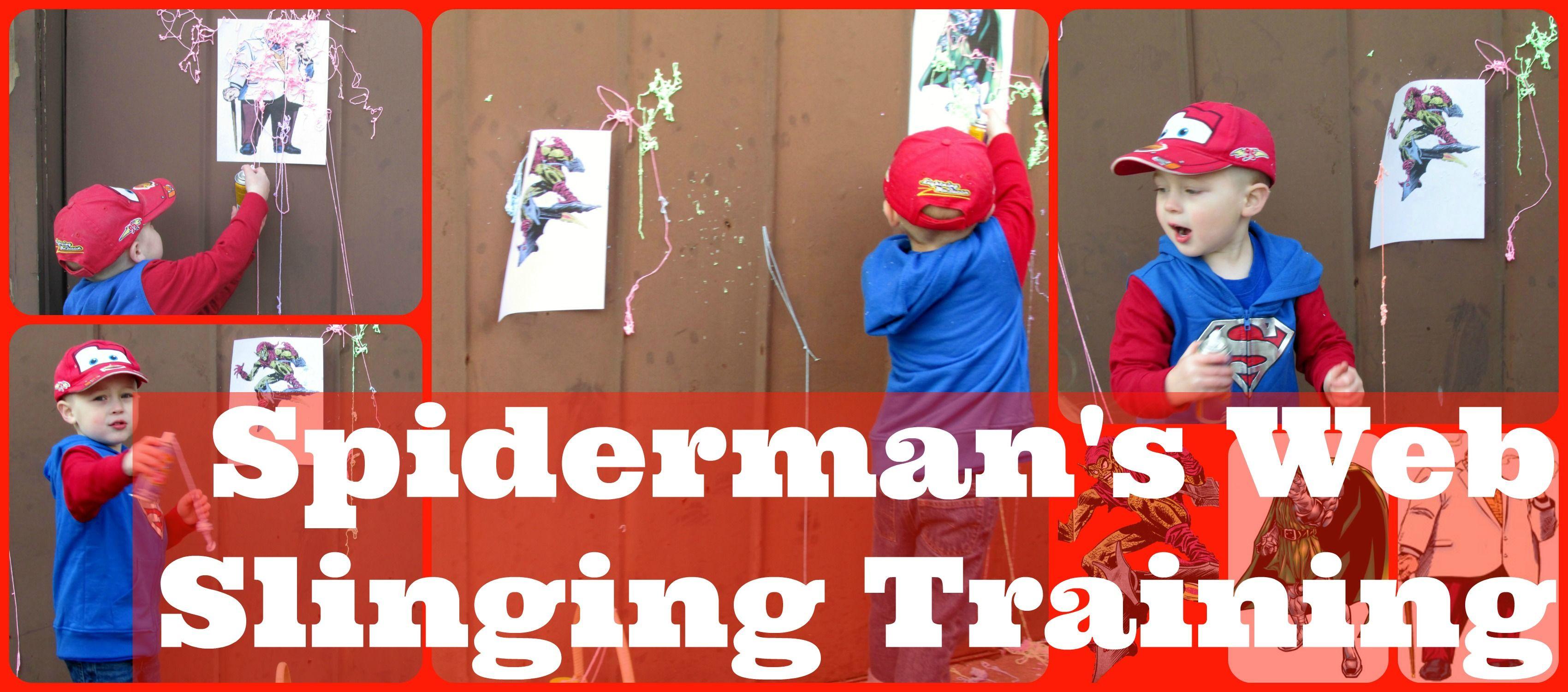 Spiderman Birthday Party Games  superhero birthday party activities