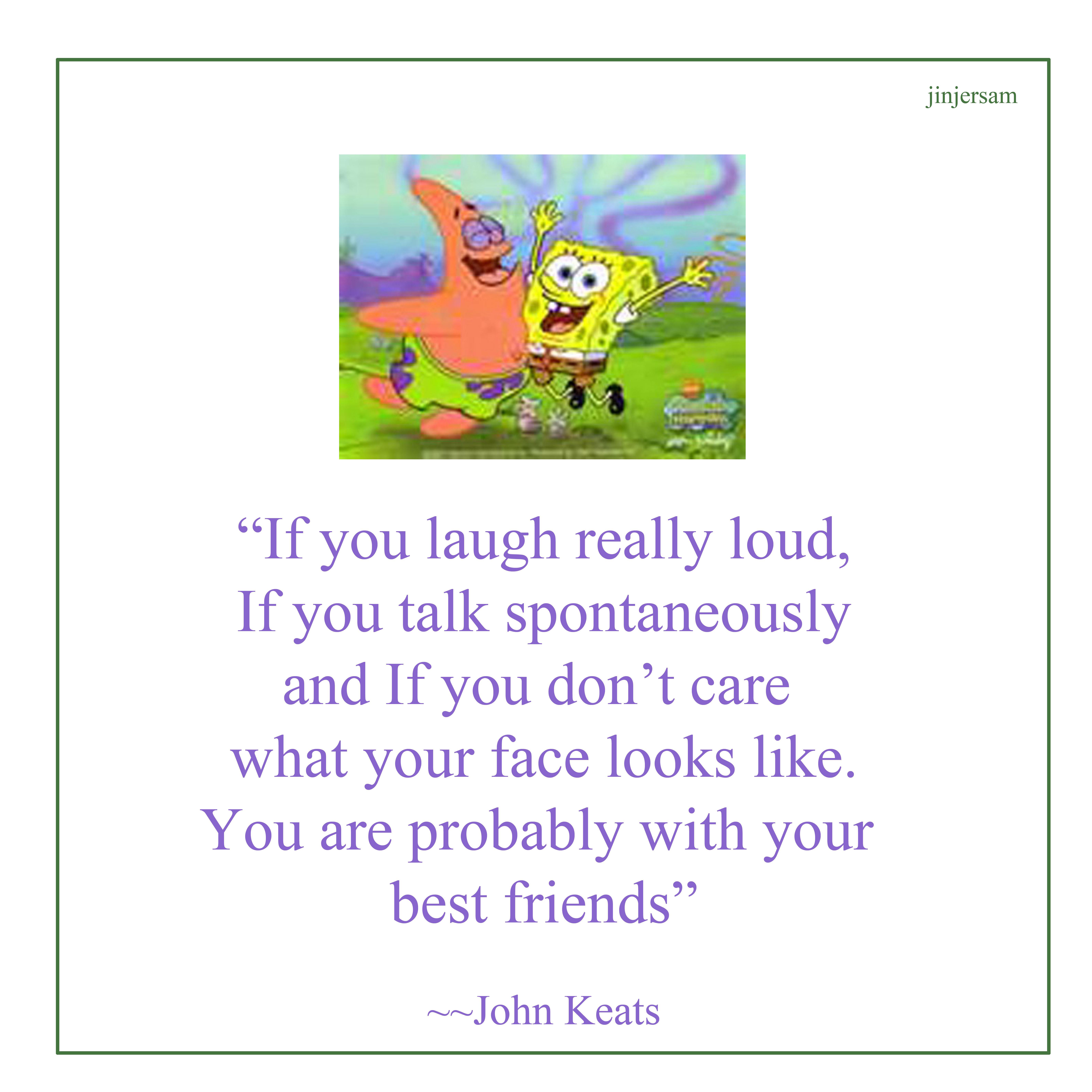 Spongebob Quotes About Friendship  friendship quotes JasReflections