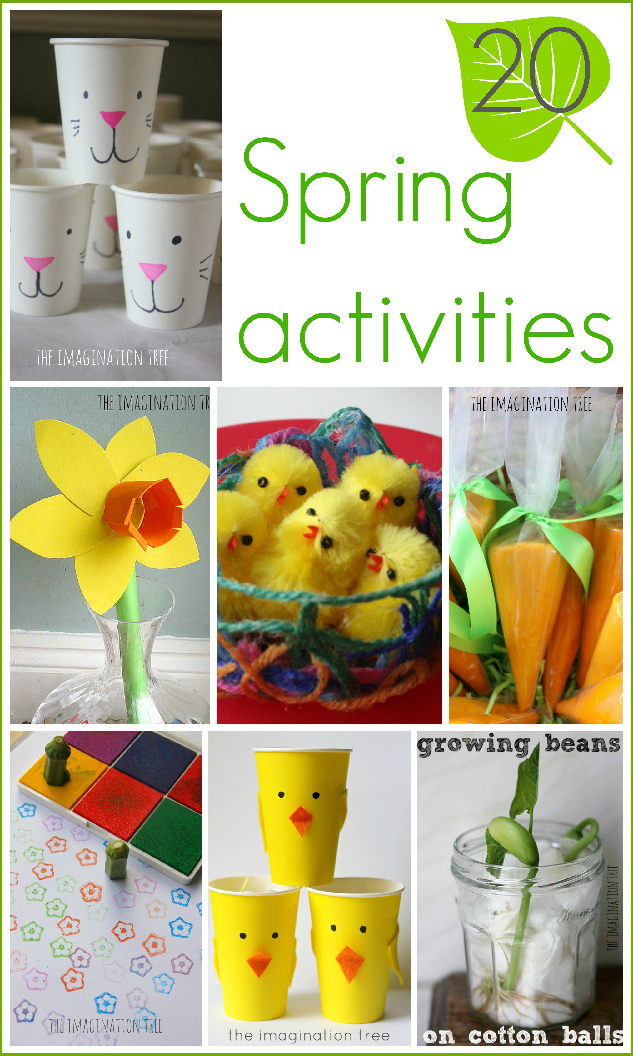 Spring Craft Ideas For Kids  15 Spring Activities for Kids The Imagination Tree
