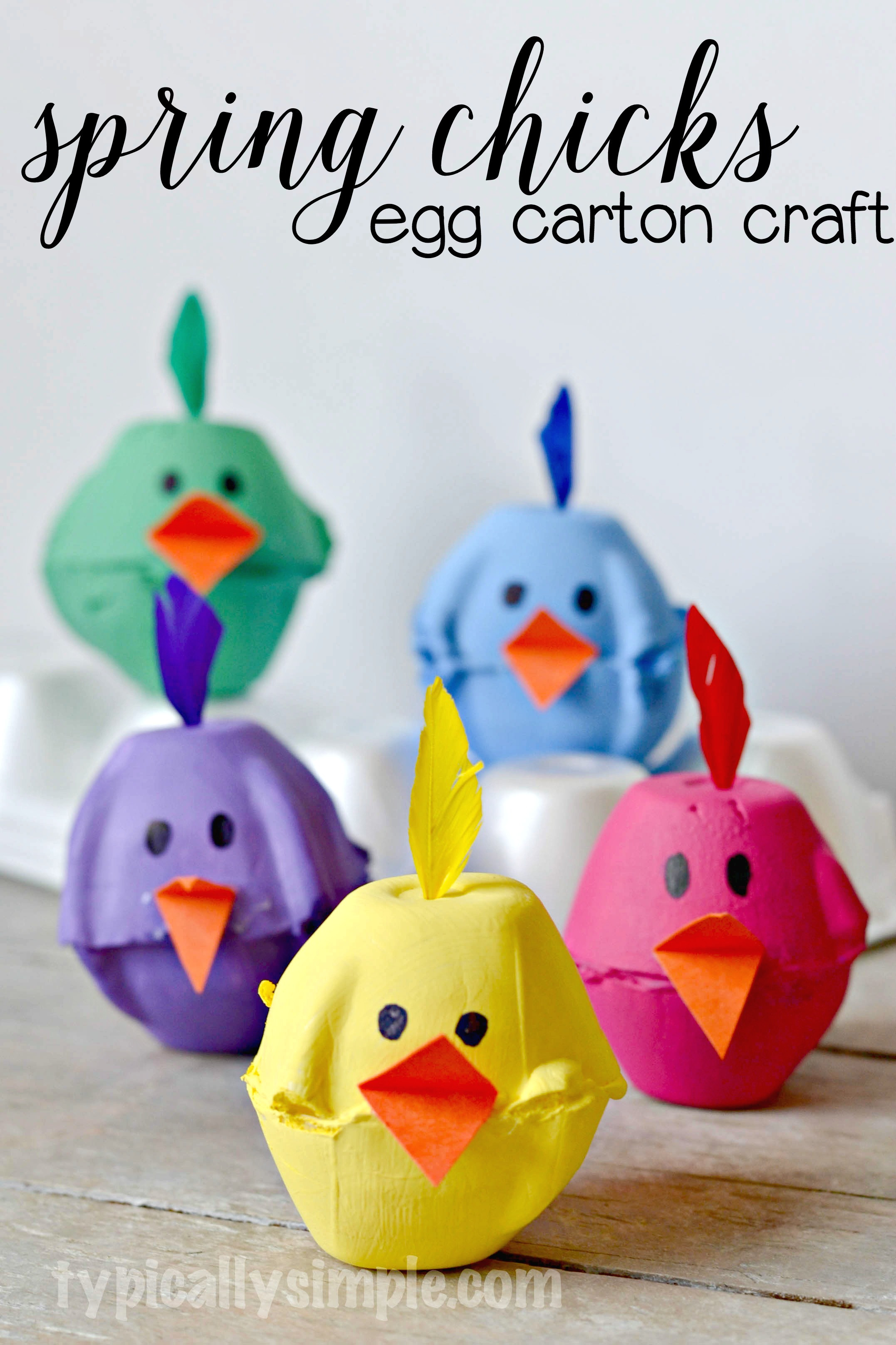 Spring Craft Ideas For Kids  30 Easter Crafts for Kids Easter Activities & Fun Ideas