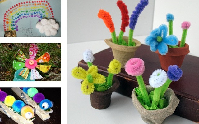 Spring Craft Ideas For Kids  Cute Spring Craft Ideas For Kids