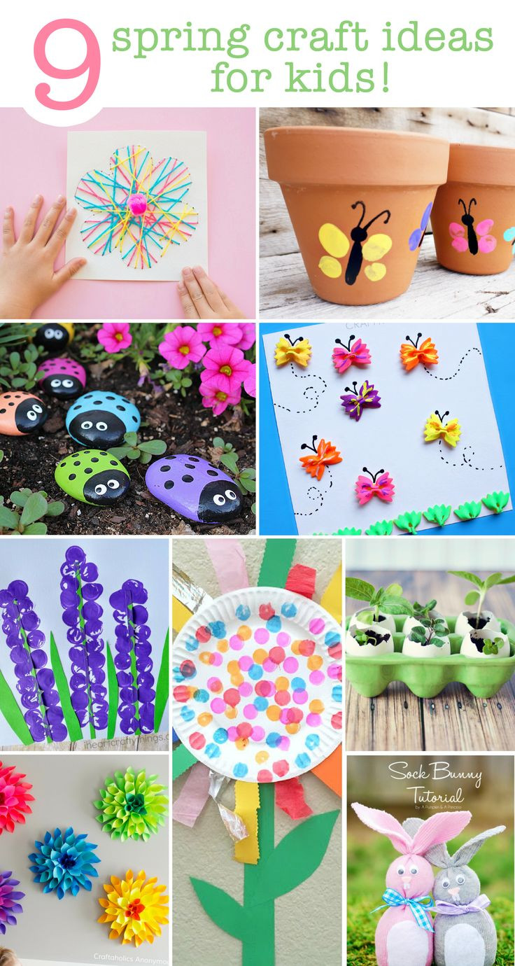 Spring Craft Ideas For Kids  17 Best ideas about Spring Crafts on Pinterest