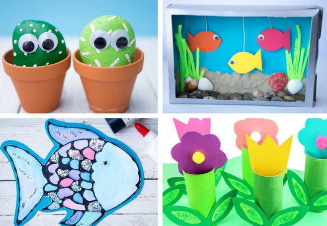 Spring Craft Ideas For Kids  100 Easy Craft Ideas for Kids The Best Ideas for Kids