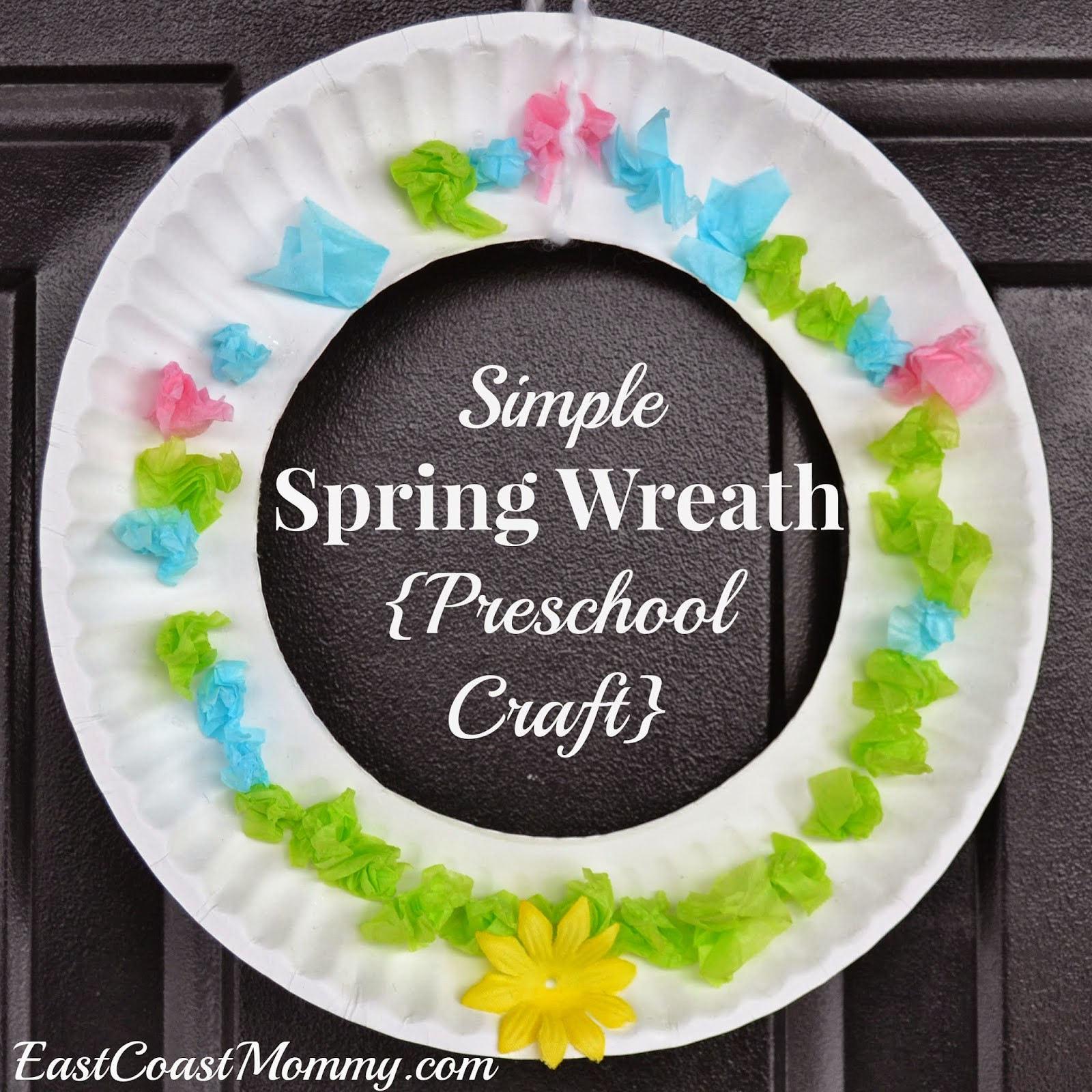 Spring Crafts Preschool  East Coast Mommy 10 Simple Easter Crafts for Kids