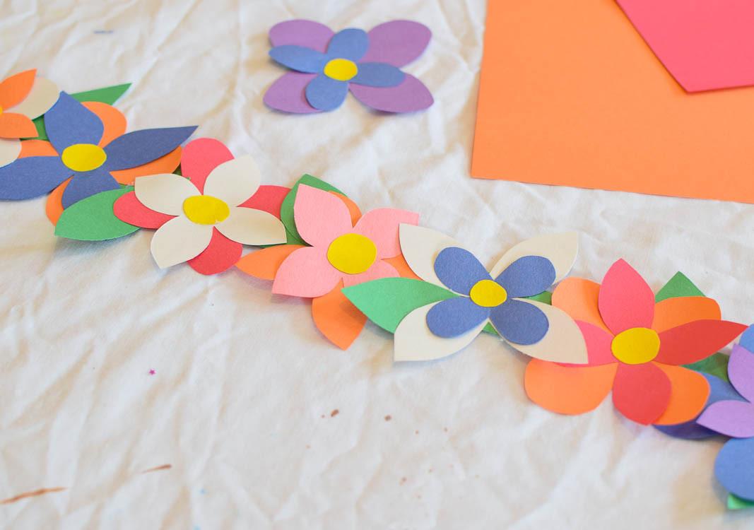 Spring Crafts Preschool  Flower Crown Spring Craft
