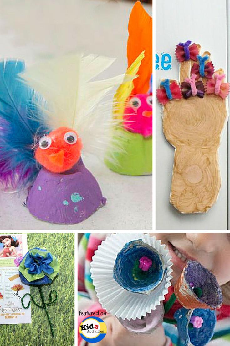 Spring Crafts Preschool  Spring Crafts for Preschool Kidz Activities