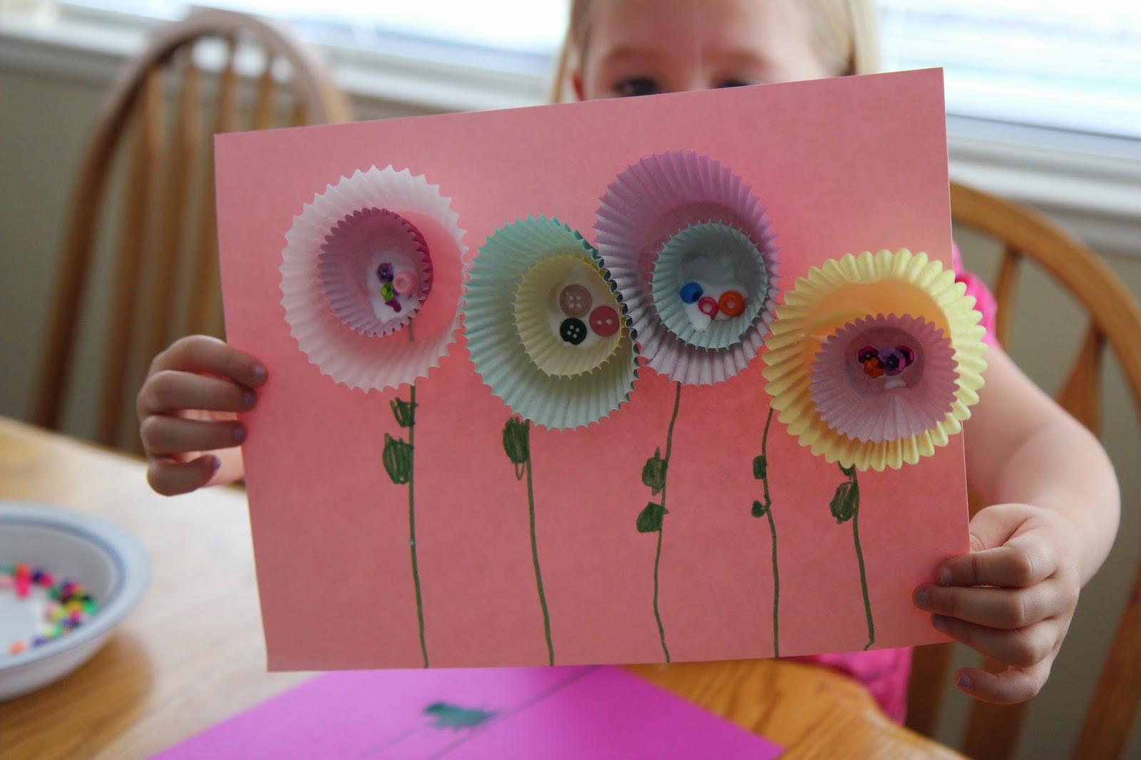 Spring Crafts Preschool  Toddler Approved Simple Spring Flower Craft