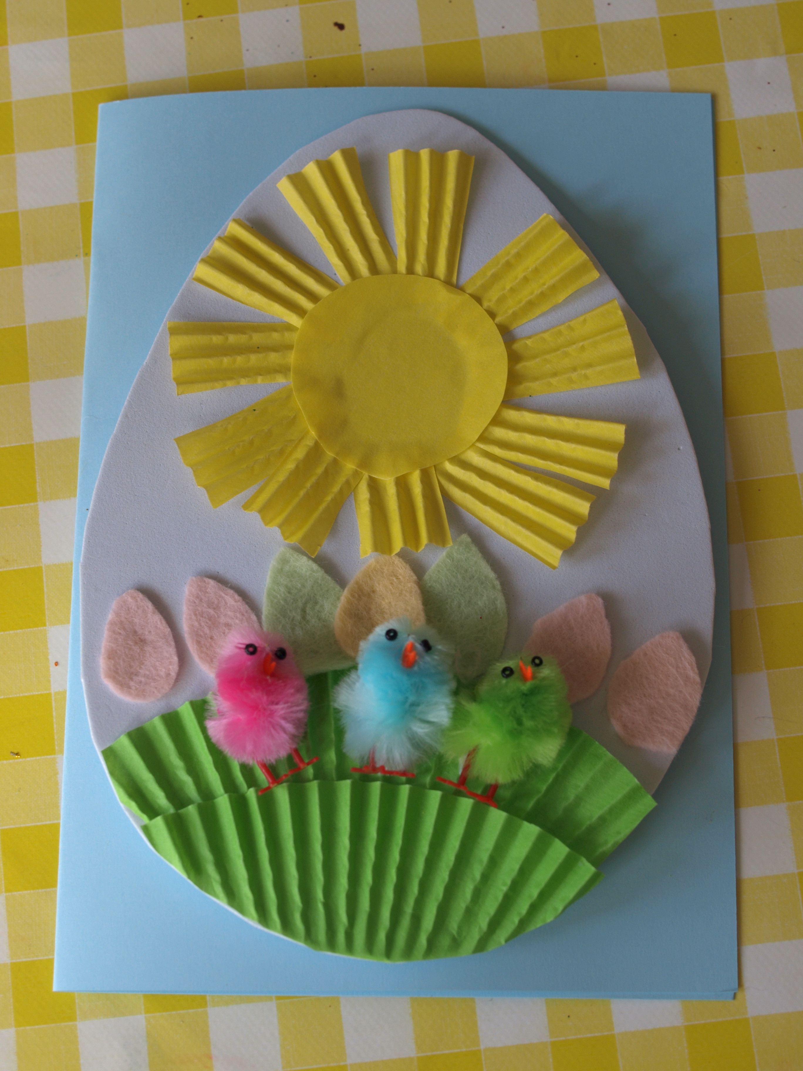 Spring Crafts Preschool  Easter Crafts for Kids Here e the Girls
