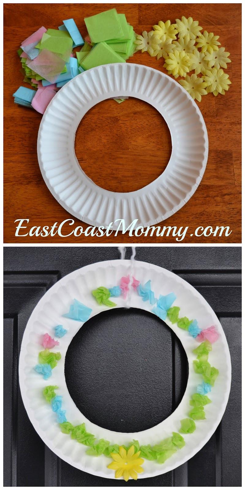 Spring Crafts Preschool  East Coast Mommy Spring Craft for Preschoolers
