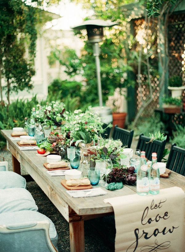 Spring Dinner Party Ideas  17 Best ideas about Outdoor Dinner Parties on Pinterest
