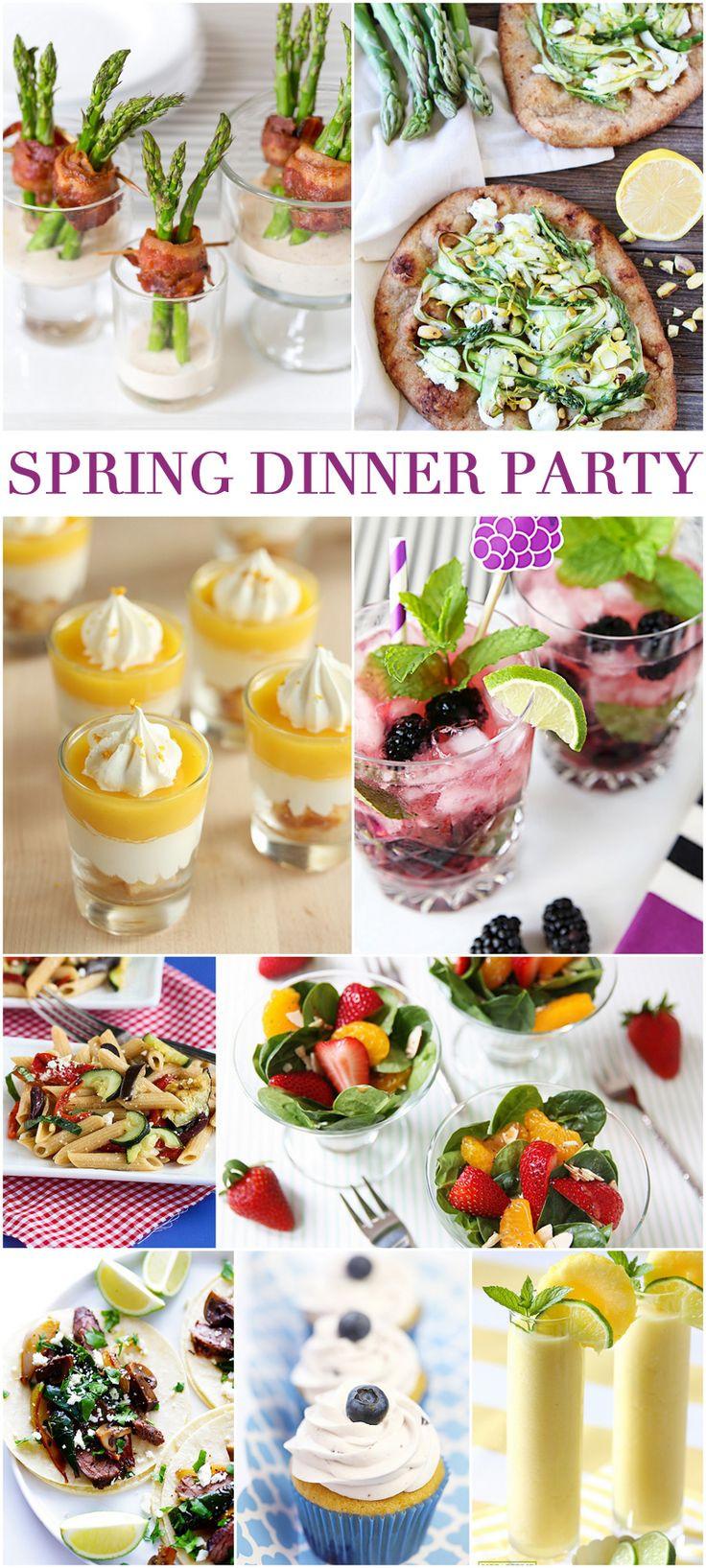 Spring Dinner Party Ideas  Best 25 Dinner themes ideas on Pinterest