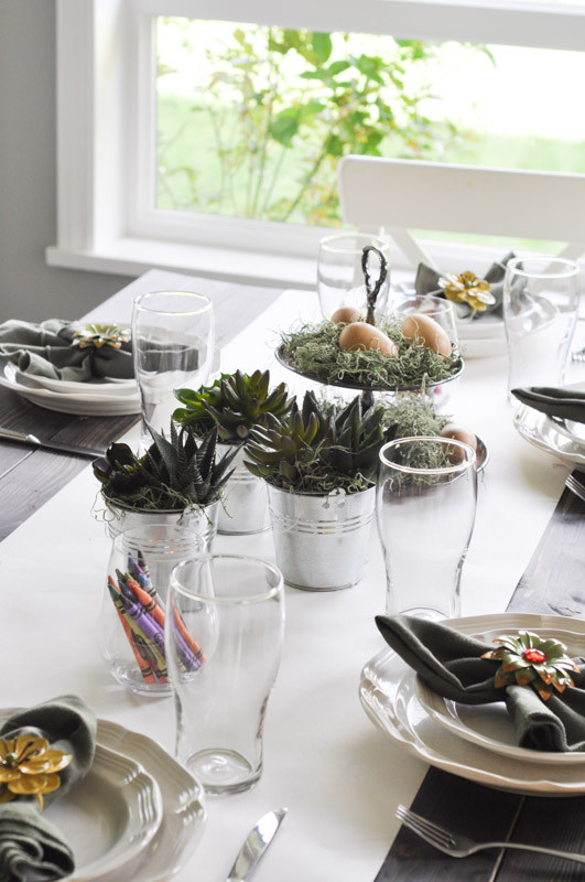 Spring Dinner Party Ideas  Setting The Kids Table & 7 Great Spring Dinner Party