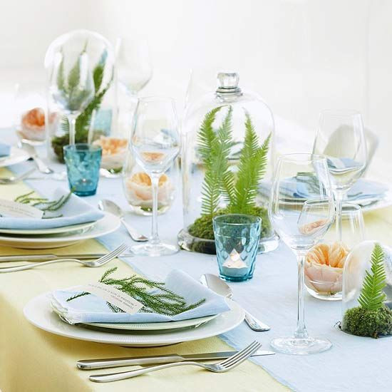 Spring Dinner Party Ideas  17 Best images about Tablescapes on Pinterest