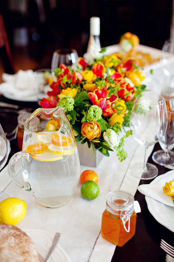 Spring Dinner Party Ideas  Dinner Party Table Setting Ideas