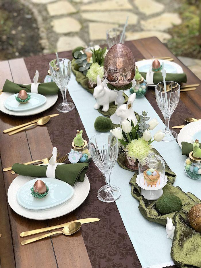 Spring Dinner Party Ideas  Easter Garden Brunch