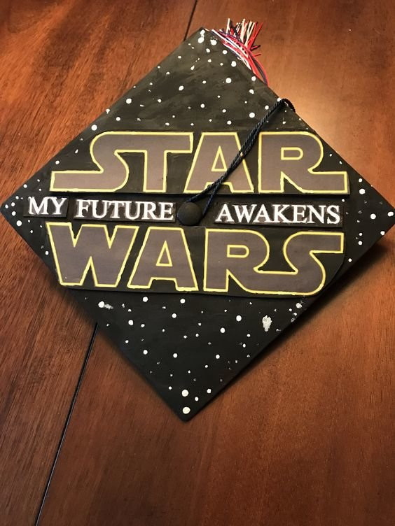Star Wars Graduation Quotes  27 Fandom Inspired Graduation Cap Ideas