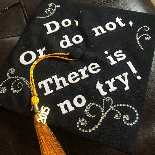 Star Wars Graduation Quotes  10 Star Wars Grad Caps Perfect For Any Jedi or Sith