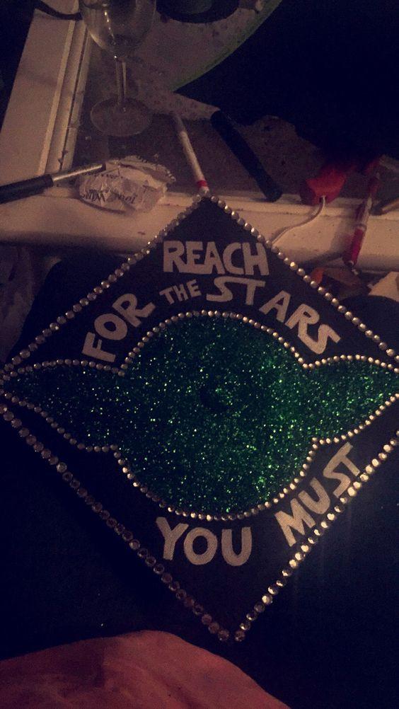 Star Wars Graduation Quotes  My Star Wars inspired Graduation cap