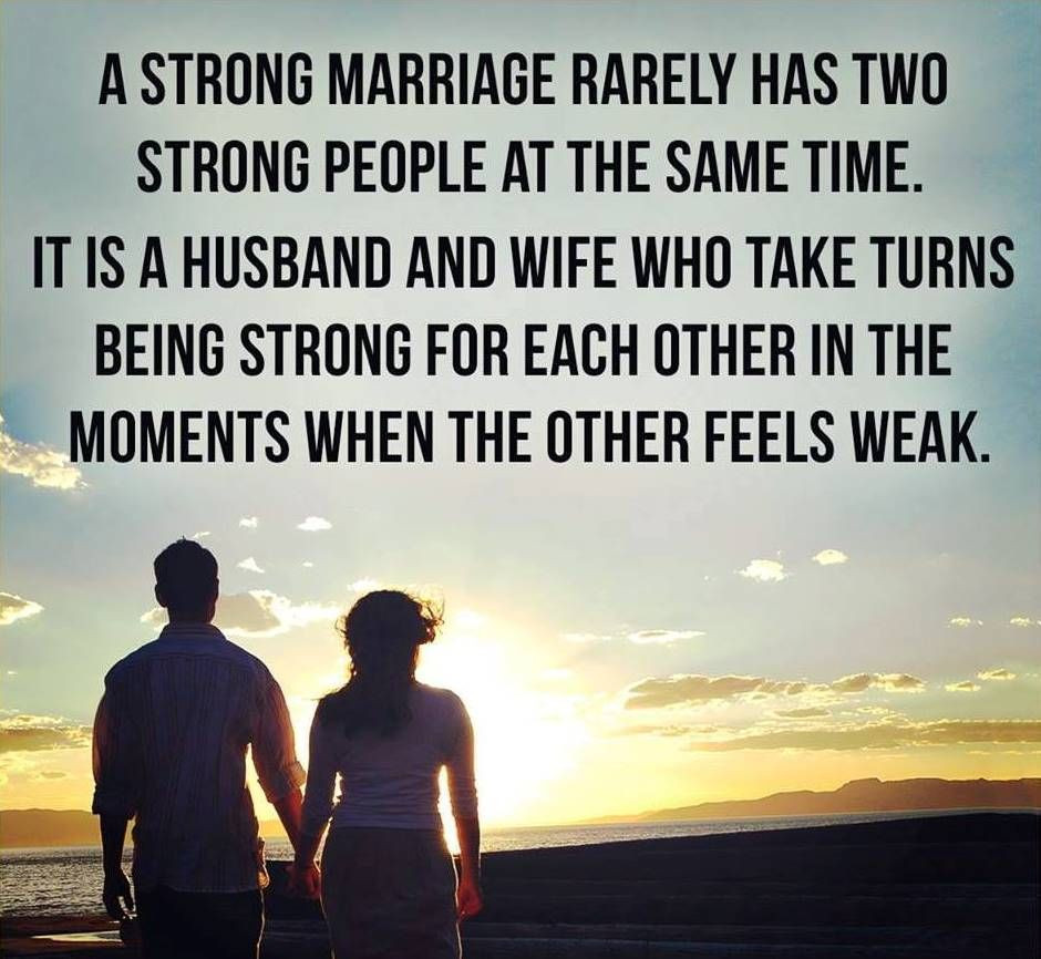 """Strong Marriage Quotes  In a strong marriage instead of """"give and take """" both"""