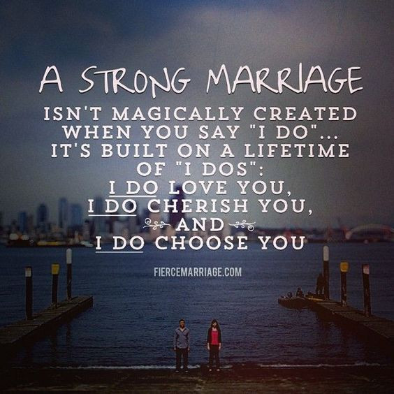 Strong Marriage Quotes  Aww a strong marriage isn t magically created when you