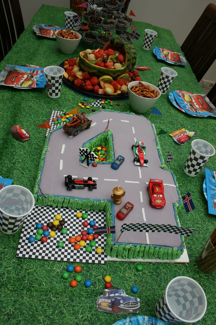 Summer Birthday Party Ideas For 4 Year Old Boy  A birthday cake I baked for my 4 year old boy