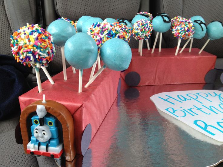 Summer Birthday Party Ideas For 4 Year Old Boy  Cake Pops for 4 year old boy s birthday