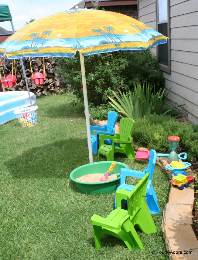 Summer Birthday Party Ideas For 4 Year Old Boy  Great idea for an outside birthday party for preschoolers