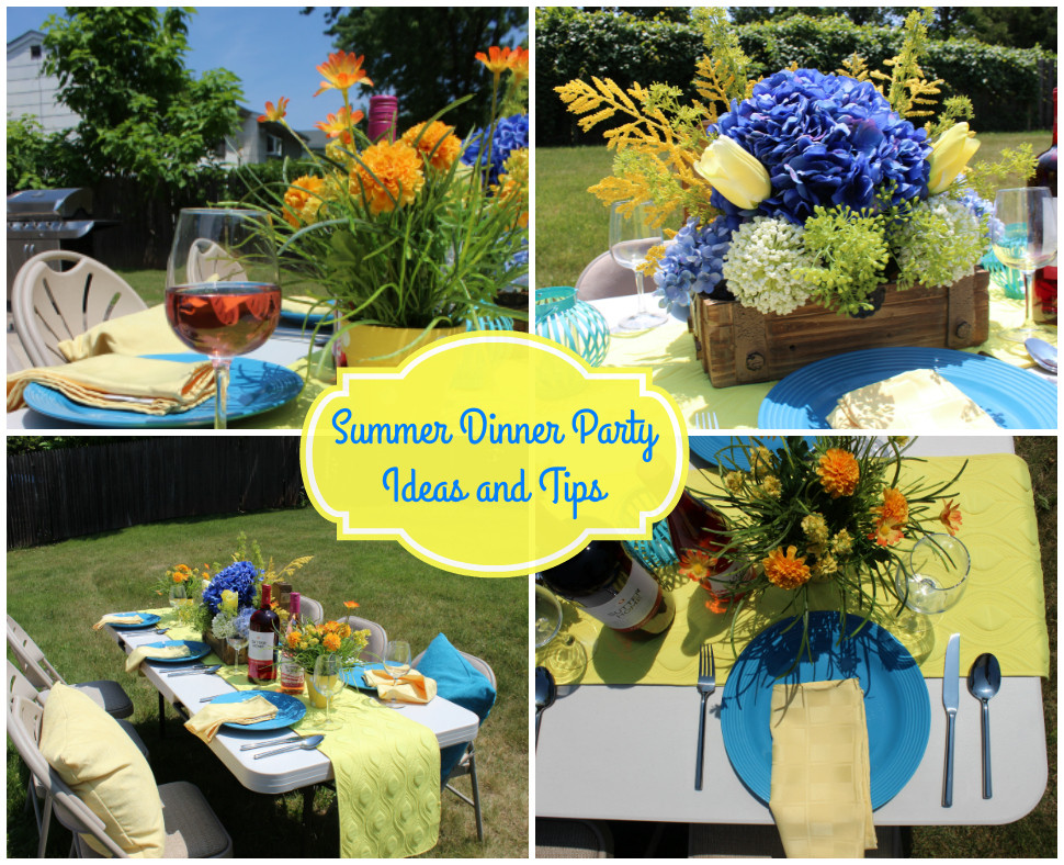 Summer Dinner Party Ideas  Summer Dinner Party Ideas and Tips Afropolitan Mom