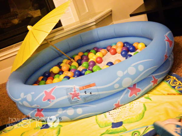 Summer In Winter Party Ideas  Beat the Winter Blues Throw and Indoor Beach Party