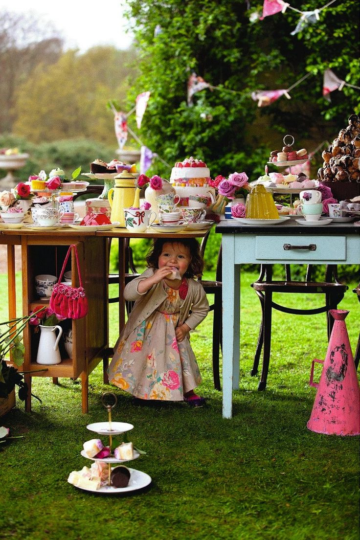 Summer In Winter Party Ideas  Summer tea party inspiration