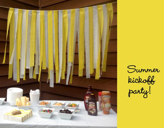 Summer Kickoff Party Ideas  third annual summer kickoff party rachel swartley