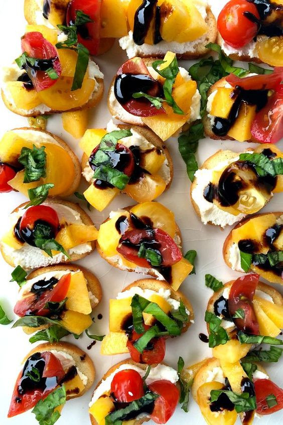 Summer Party Appetizers Ideas  Summer parties Great appetizers and Crostini recipes on