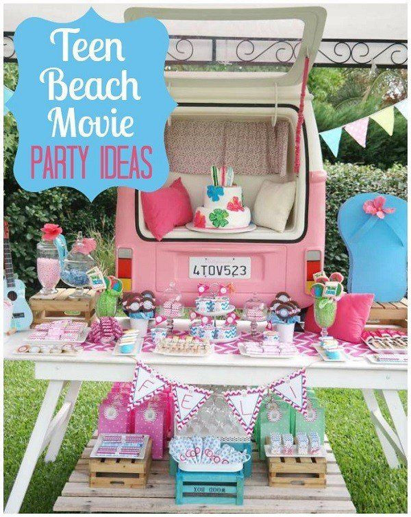 Summer Teen Party Ideas  Summer Birthday Party Ideas For Girls