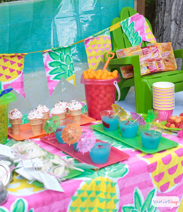 Summer Teen Party Ideas  Backyard Beach Party Ideas Atta Girl Says