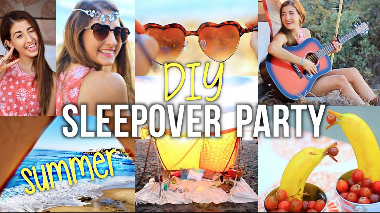 Summer Teen Party Ideas  Summer Girls Night Party DIY Ideas for Decor & Food
