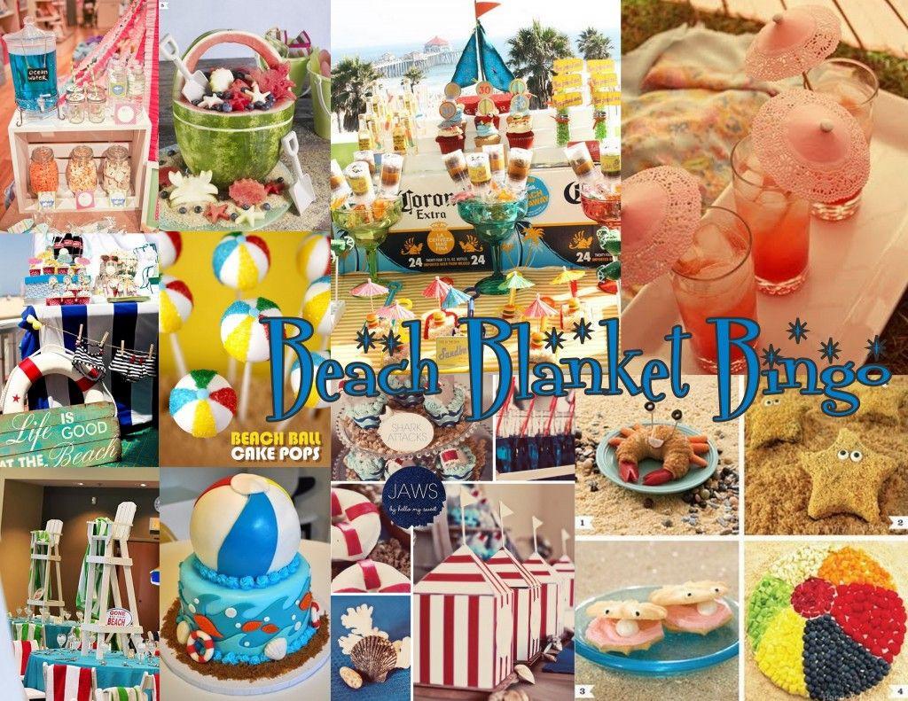 Summer Theme Party Ideas  BEACH POOL PARTY IDEAS