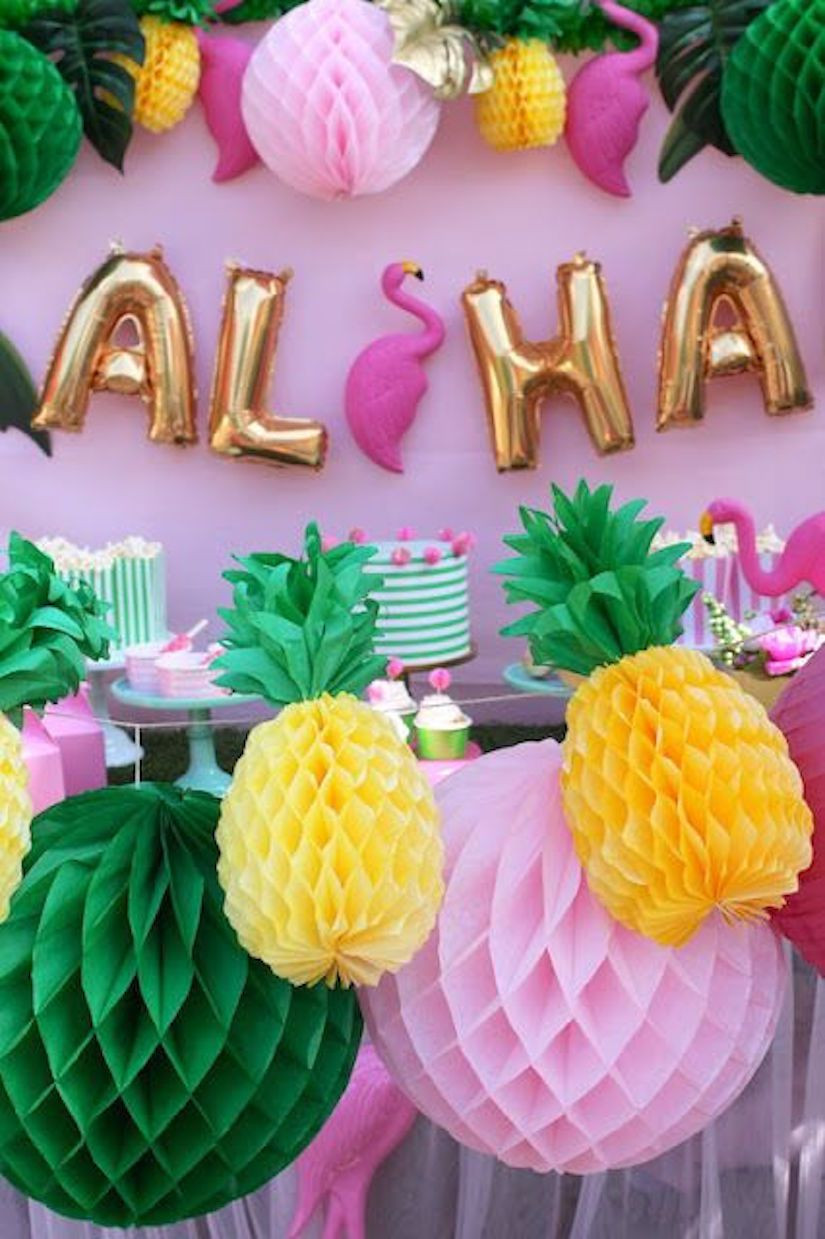 Summer Theme Party Ideas  The Kissing Booth Blog Best Summer Party Ideas Aloha