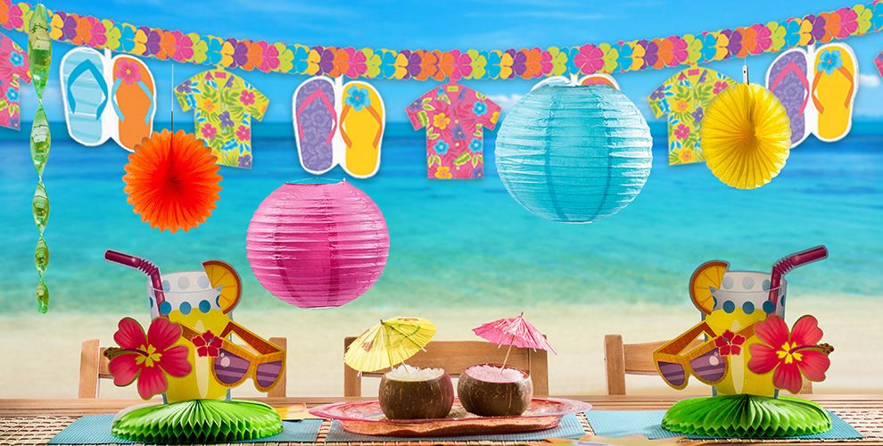 Summer Theme Party Ideas  Fun in the Sun Summer Party Theme Summer Themed Party