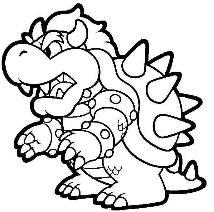 Super Mario Printable Coloring Pages  Free Printable Coloring Pages Cool Coloring Pages Super