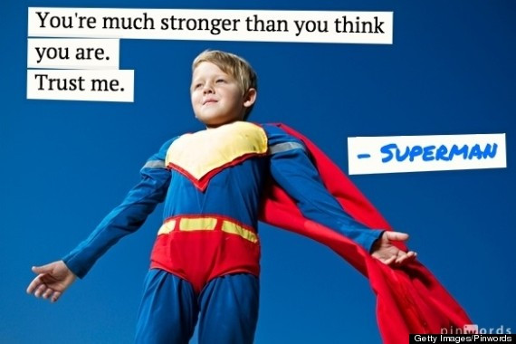 Superman Quotes Inspirational  11 Inspirational Quotes From Superheroes That Might Just